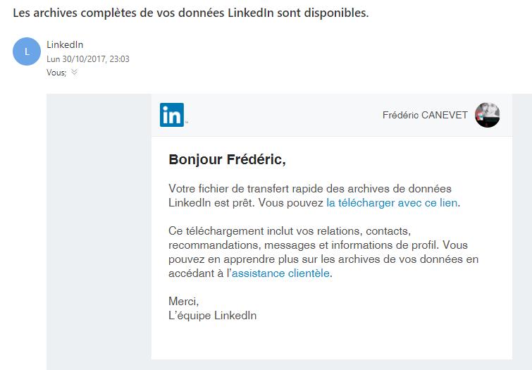 Tutoriel Mailchimp : Comment exporter ses contacts de Linkedin vers Mailchimp ! 6