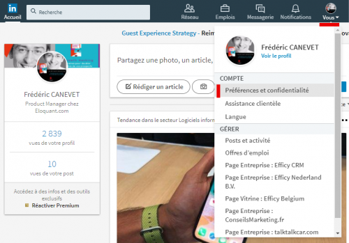 Tutoriel Mailchimp : Comment exporter ses contacts de Linkedin vers Mailchimp ! 5