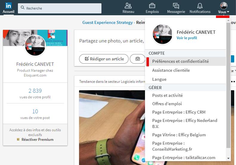 Tutoriel Mailchimp : Comment exporter ses contacts de Linkedin vers Mailchimp ! 2
