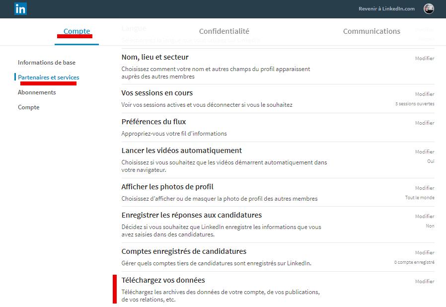 Tutoriel Mailchimp : Comment exporter ses contacts de Linkedin vers Mailchimp ! 3