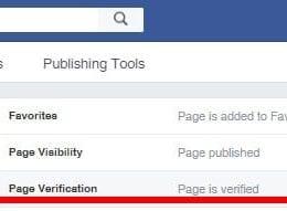 Comment mettre sa Page Facebook en statut vérifiée avec le Badge Vérifié ? 4
