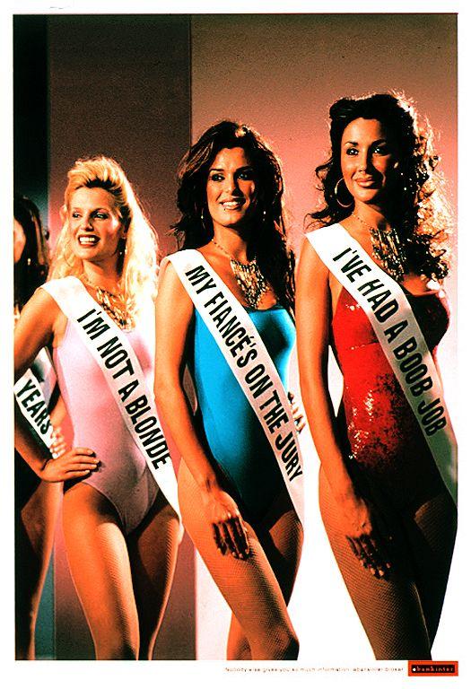 Les publicités les plus belles et les créatives sur les Miss France 6