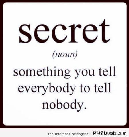 8-definition-of-secret-funny