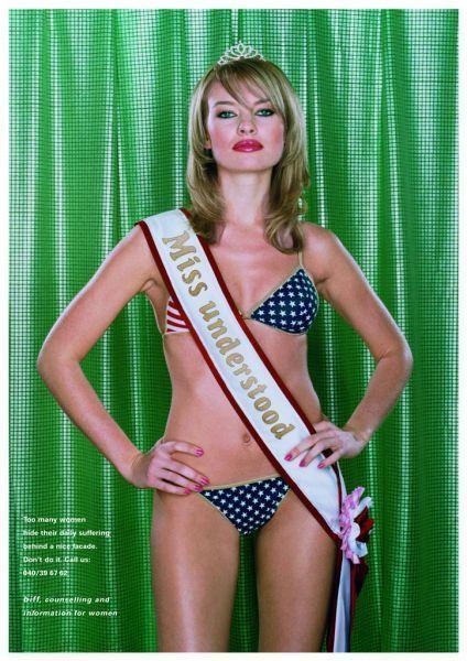Les publicités les plus belles et les créatives sur les Miss France 11