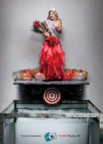 Les publicités les plus belles et les créatives sur les Miss France 14
