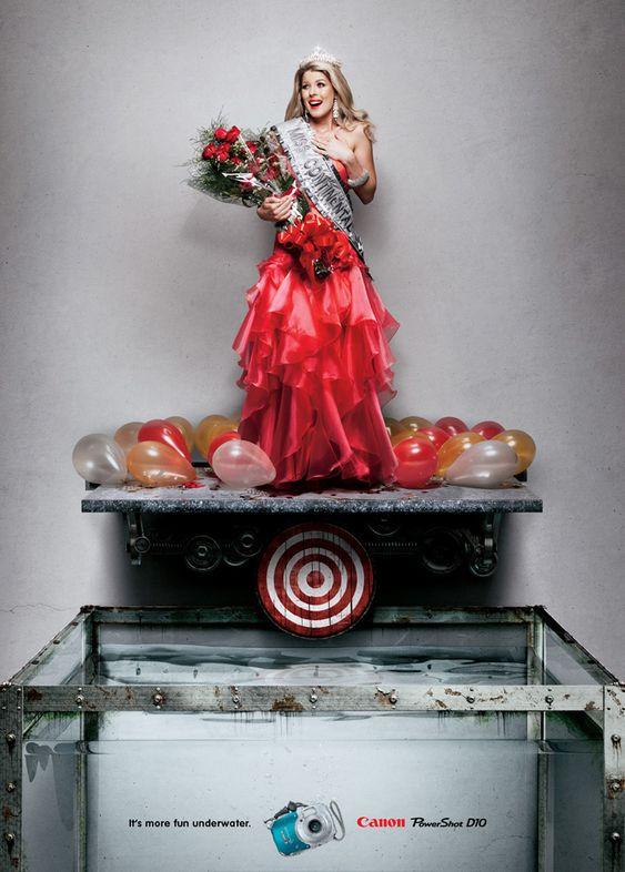 Les publicités les plus belles et les créatives sur les Miss France 12