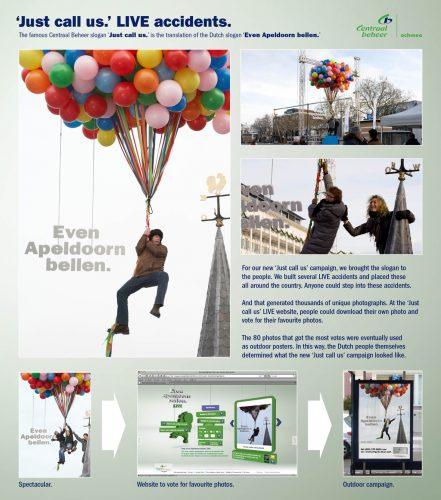 Plus de 100 pubs de Street Marketing créatives à prendre en exemple ! 380