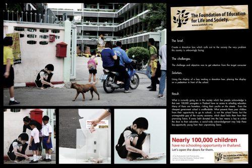 Plus de 100 pubs de Street Marketing créatives à prendre en exemple ! 177