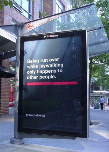Plus de 100 pubs de Street Marketing créatives à prendre en exemple ! 183