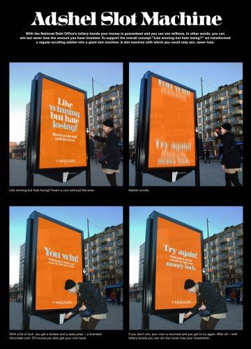 Plus de 100 pubs de Street Marketing créatives à prendre en exemple ! 240