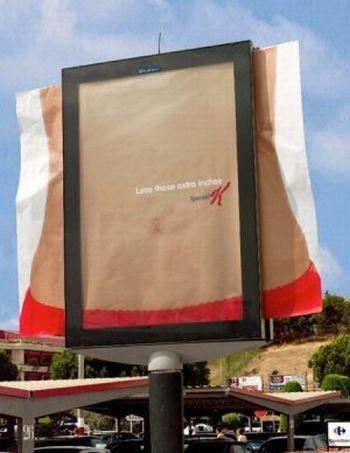 Plus de 100 pubs de Street Marketing créatives à prendre en exemple ! 430