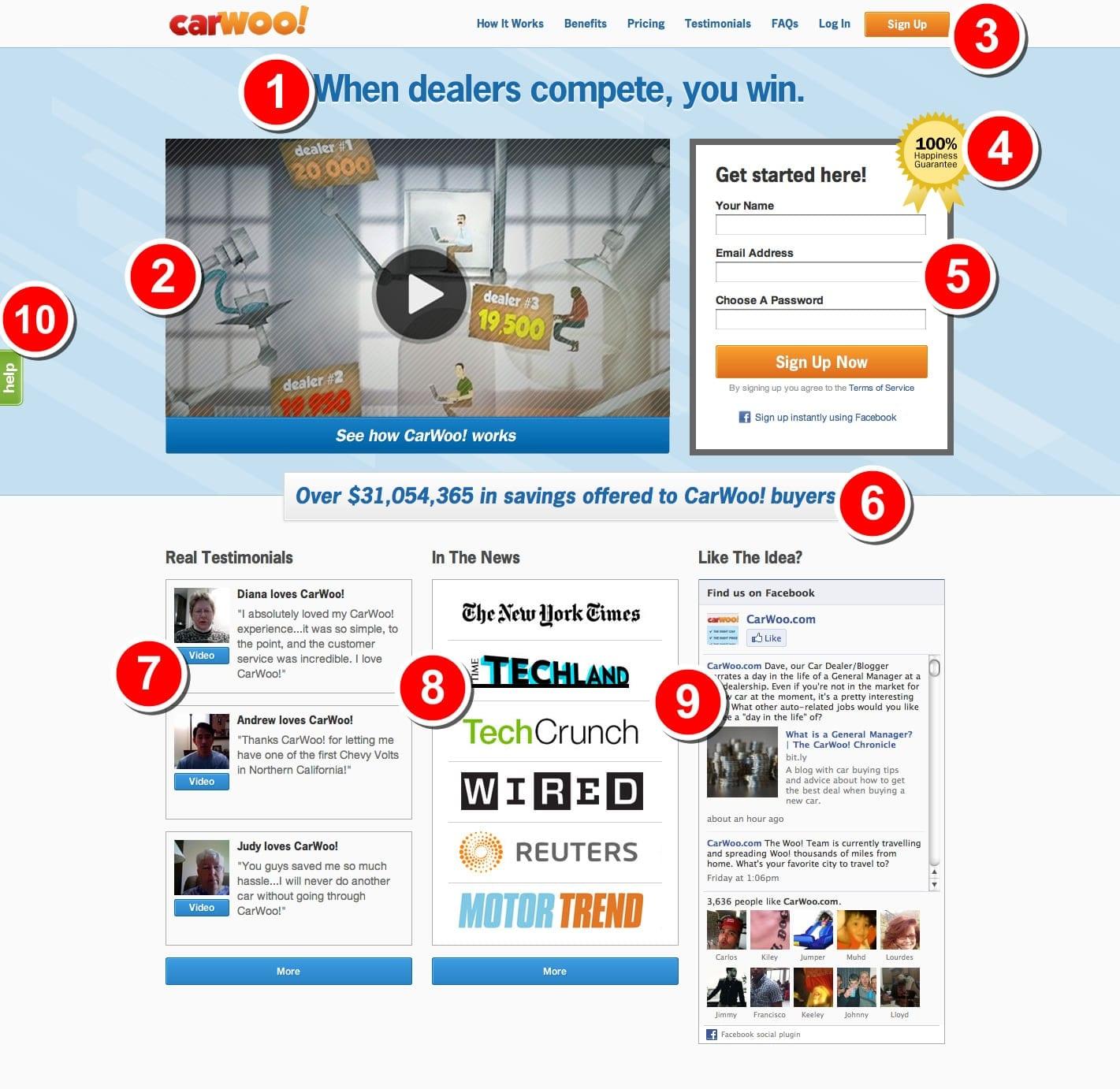 Les 4 fondamentaux d'une bonne landing page + 5 exemples 5