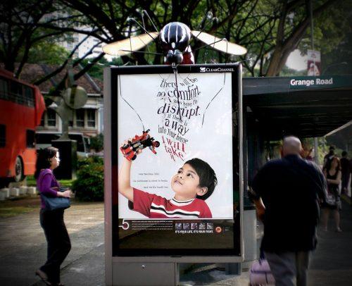 Plus de 100 pubs de Street Marketing créatives à prendre en exemple ! 372