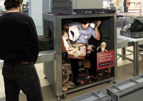 Plus de 100 pubs de Street Marketing créatives à prendre en exemple ! 355