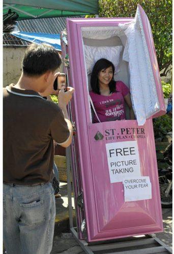 Plus de 100 pubs de Street Marketing créatives à prendre en exemple ! 346