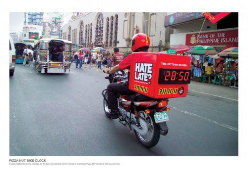 Plus de 100 pubs de Street Marketing créatives à prendre en exemple ! 172