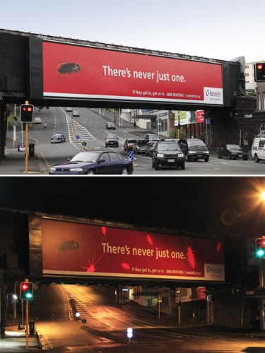 Plus de 100 pubs de Street Marketing créatives à prendre en exemple ! 189
