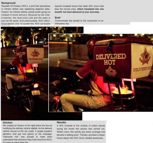Plus de 100 pubs de Street Marketing créatives à prendre en exemple ! 191