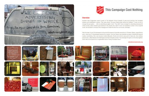 Plus de 100 pubs de Street Marketing créatives à prendre en exemple ! 198