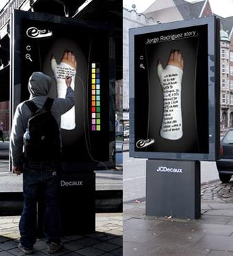 Plus de 100 pubs de Street Marketing créatives à prendre en exemple ! 236