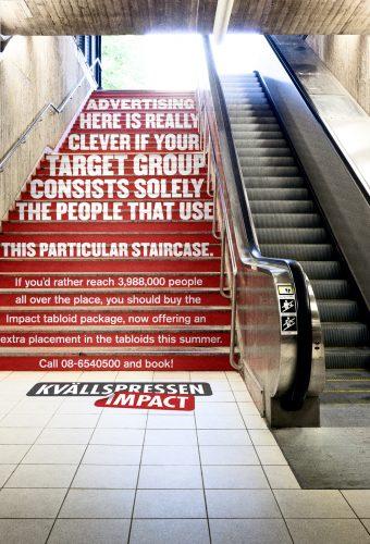 Plus de 100 pubs de Street Marketing créatives à prendre en exemple ! 255