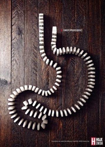 Les publicités les plus créatives pour lutter contre le Cancer #WorldCancerDay 48