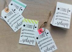 De belles idées de cartes de visites pour les couturières et les arts créatifs 17