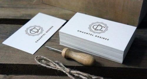 De belles idées de cartes de visites pour les couturières et les arts créatifs 18