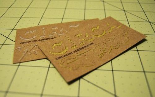 De belles idées de cartes de visites pour les couturières et les arts créatifs 28