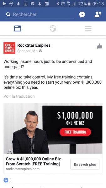 Comment réussir une bonne publicité sur Facebook Ads ? 31