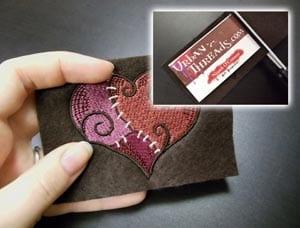 De belles idées de cartes de visites pour les couturières et les arts créatifs 13
