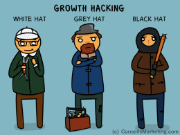 Qu'est-ce que le Growth Hacking ? Le Chevalier Blanc ou le Chevalier Noir du marketing ? 19