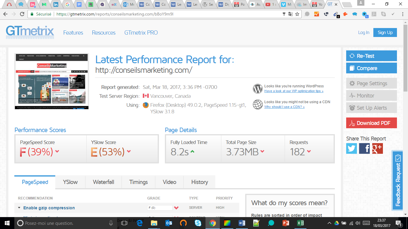 Comment (vraiment) optimiser et améliorer la vitesse d'un site Wordpress ? 2