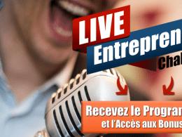 RDV le 13 Mai 2017 pour le Live Entrepreneur Challenge : 15h de formation gratuite ! 12
