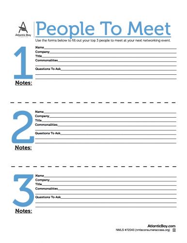 La checklist pour trouver des clients grâce aux événements, soirées networking... 18