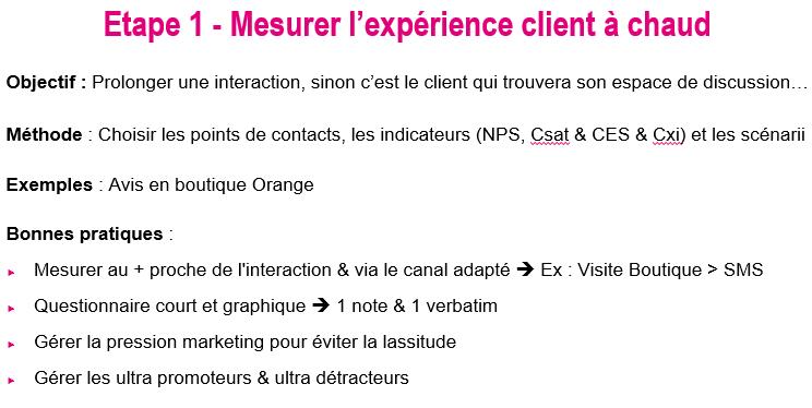 Comment améliorer l'expérience client ? - Mini formation d'1h15 7