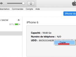 Comment obtenir le numéro UDID d'un iPhone ? 44