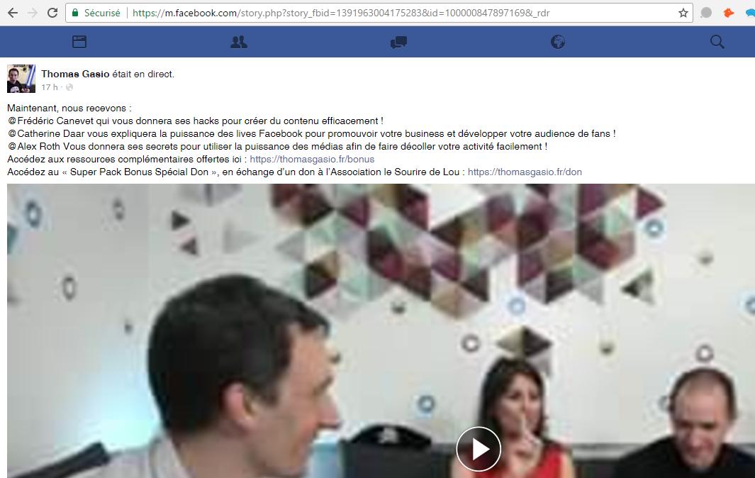 Comment télécharger une vidéo Facebook ? 14