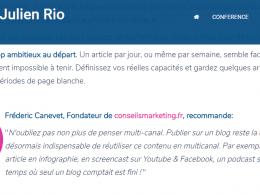 Comment mettre en place une stratégie de Content Marketing quand on est une PME ou une Startup ? 19