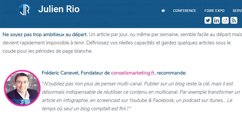 Comment mettre en place une stratégie de Content Marketing quand on est une PME ou une Startup ? 11