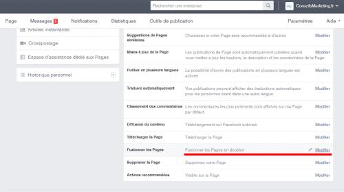 Comment fusionner deux pages Fans Facebook ? - Le mode d'emploi pas à pas ! 10