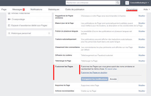 Comment fusionner deux pages Fans Facebook ? - Le mode d'emploi pas à pas ! 11
