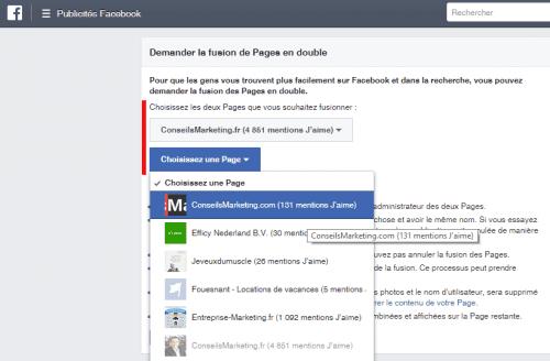 Comment fusionner deux pages Fans Facebook ? - Le mode d'emploi pas à pas ! 13