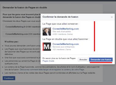 Comment fusionner deux pages Fans Facebook ? - Le mode d'emploi pas à pas ! 4