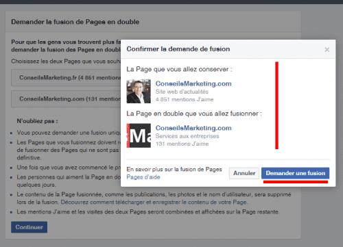 Comment fusionner deux pages Fans Facebook ? - Le mode d'emploi pas à pas ! 14