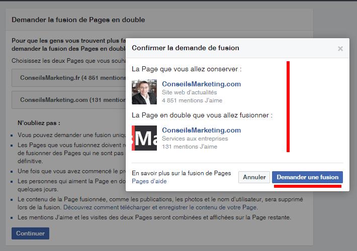 Comment Fusionner Deux Pages Fans Facebook Le Mode D Emploi Pas A Pas