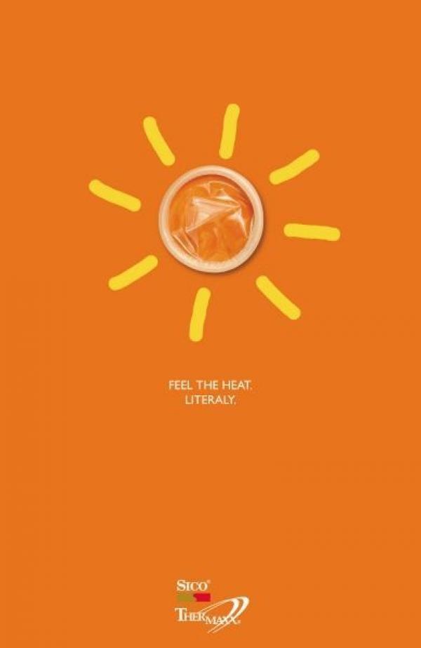Les publicités les plus créatives sur la Canicule 18