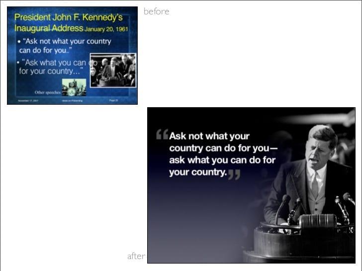 Comment réussir une bonne présentation Powerpoint ? Les clés d'une Présentation à l'Américaine ! 29