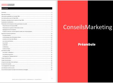 Modèle de Cahier des Charges pour un Projet CRM à télécharger 6