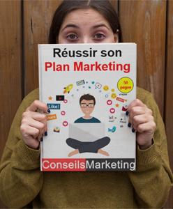 """Je vous offre mon guide """"Réussir son Plan Marketing"""" - 80 pages 2"""